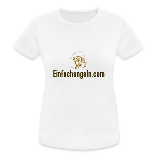 Einfachangeln Teamshirt - Frauen T-Shirt atmungsaktiv