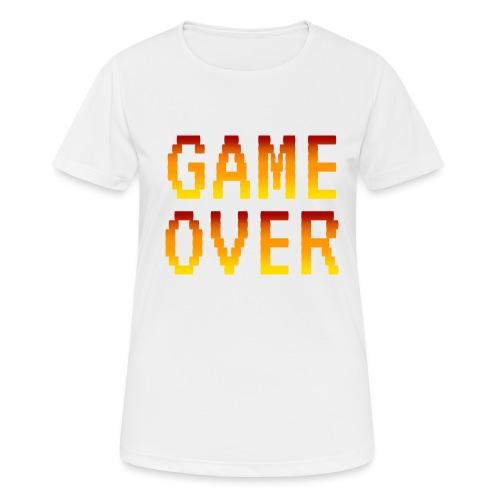 Game Over - Maglietta da donna traspirante