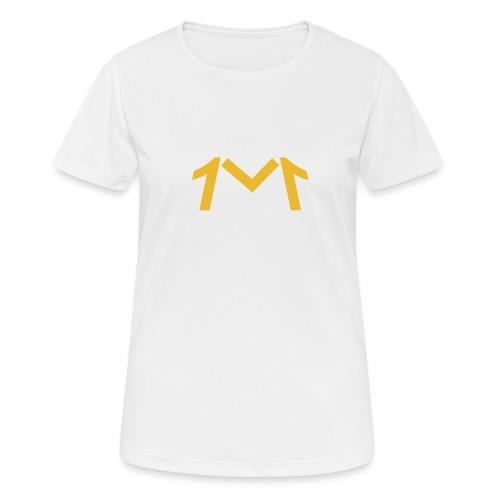 1M, LE LOGO DE L'UNIVERS - T-shirt respirant Femme