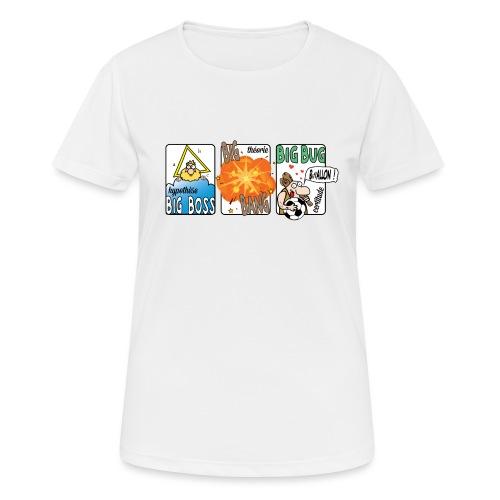 big boss big bang big bug - T-shirt respirant Femme