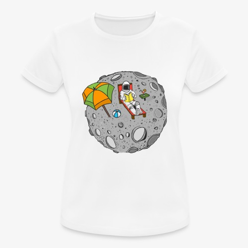 To the Moon - T-shirt respirant Femme