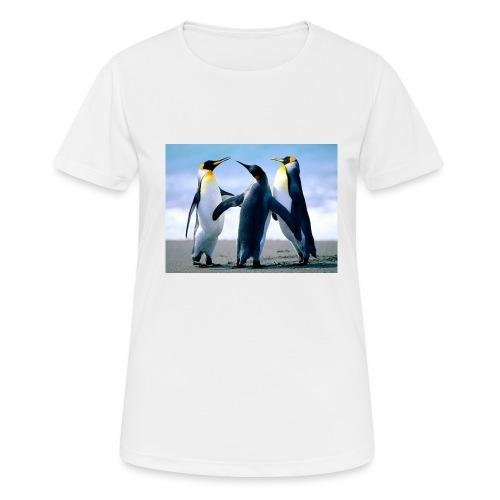 Penguins - Maglietta da donna traspirante