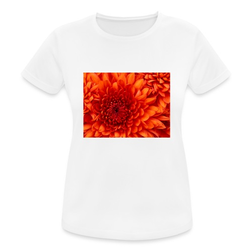 Chrysanthemum - vrouwen T-shirt ademend