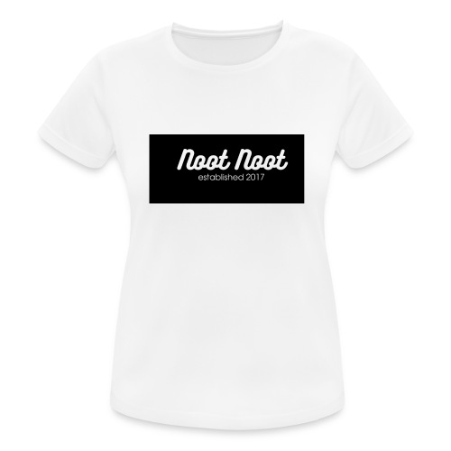 Noot Noot established 2017 - Women's Breathable T-Shirt
