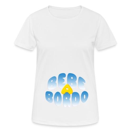 Bebé a bordo - Camiseta mujer transpirable