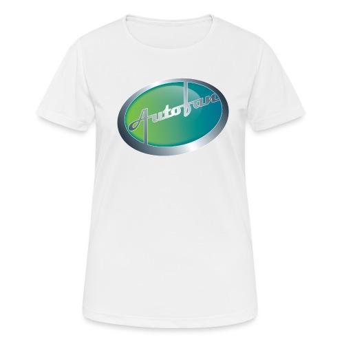 Autofan groen - Vrouwen T-shirt ademend actief
