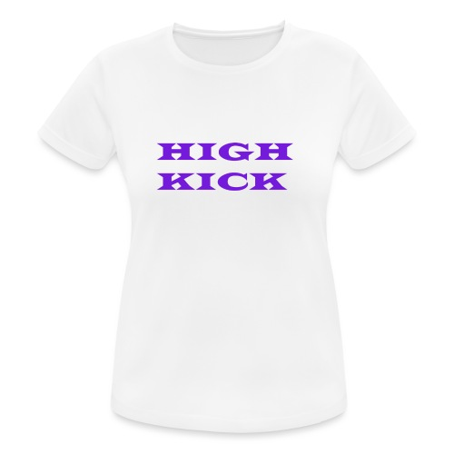HIGH KICK HOODIE [LIMITED EDITION] - Women's Breathable T-Shirt