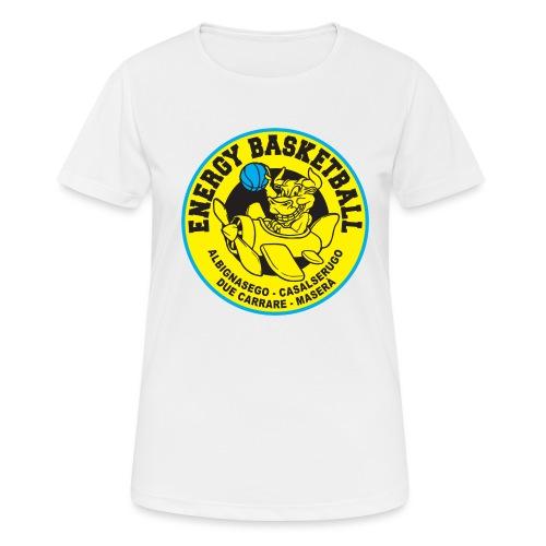street wear energy basketball merchandising - Maglietta da donna traspirante