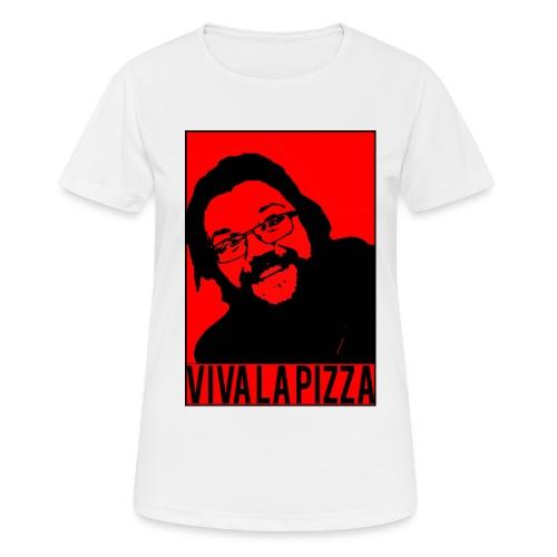 Viva La Pizza - Women's Breathable T-Shirt