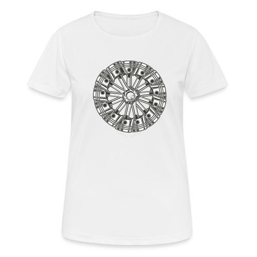 zuiger rol - Vrouwen T-shirt ademend actief