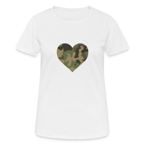 CamoHearth - Koszulka damska oddychająca