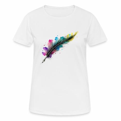 penna piuma - Maglietta da donna traspirante