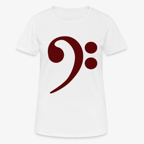 Bass-Key-4 - Frauen T-Shirt atmungsaktiv
