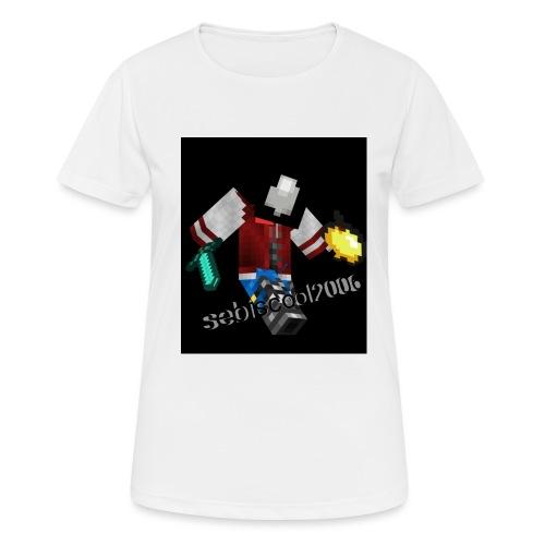 Sebastian yt - Dame T-shirt svedtransporterende