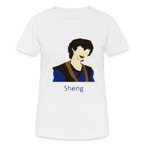 Sheng Canon - Dame T-shirt svedtransporterende