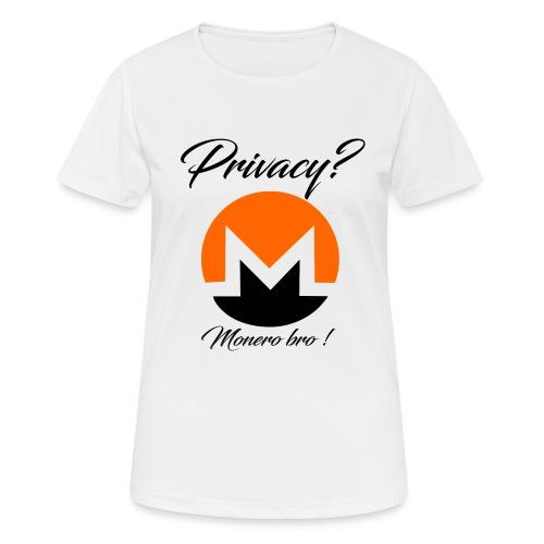 Moneroooo - T-shirt respirant Femme