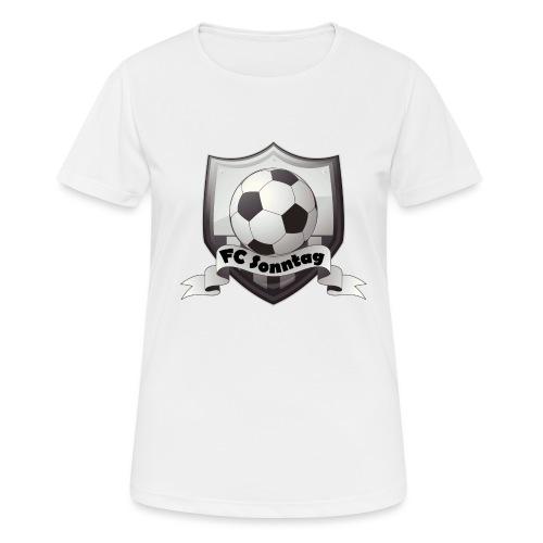 FC Sonntag Logo - Frauen T-Shirt atmungsaktiv