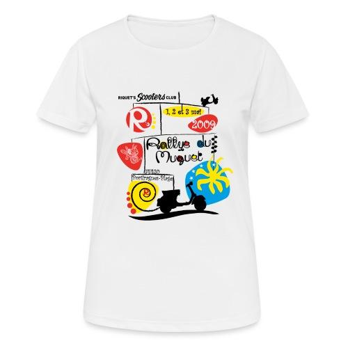 Rallye du Muguet 2009 - T-shirt respirant Femme