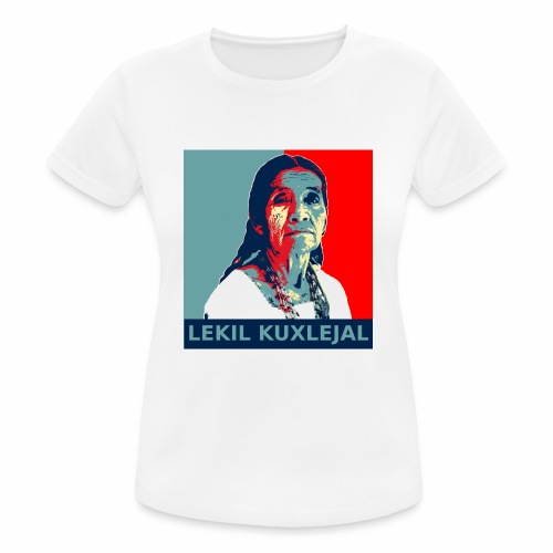 Lekil Kuxlejal - Camiseta mujer transpirable