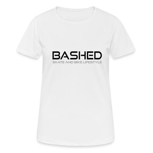 White iconic tee - Vrouwen T-shirt ademend actief