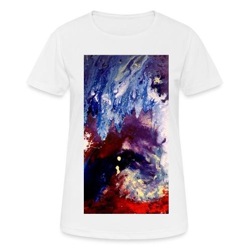 Ocean Vibes - Vrouwen T-shirt ademend actief