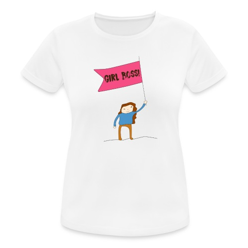Gurl boss - Camiseta mujer transpirable