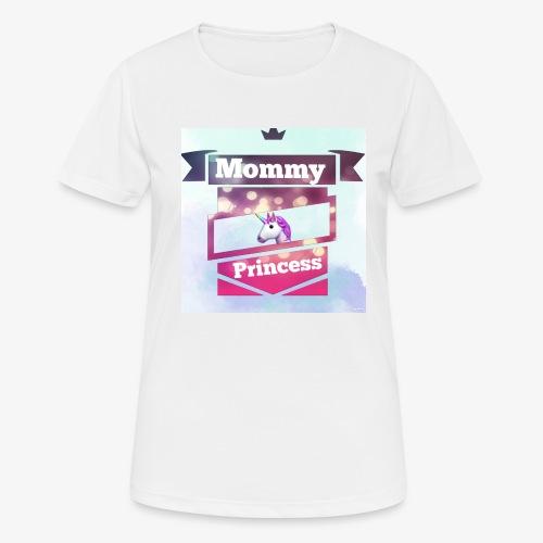 Mommy & Princess - Frauen T-Shirt atmungsaktiv