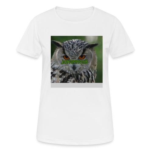 JohannesB lue - Pustende T-skjorte for kvinner