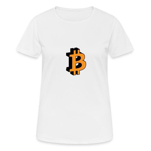 Bitcoin - Frauen T-Shirt atmungsaktiv