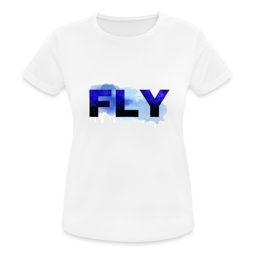 Paint Fly Design - Women's Breathable T-Shirt