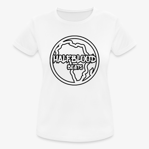 halfbloodAfrica - vrouwen T-shirt ademend