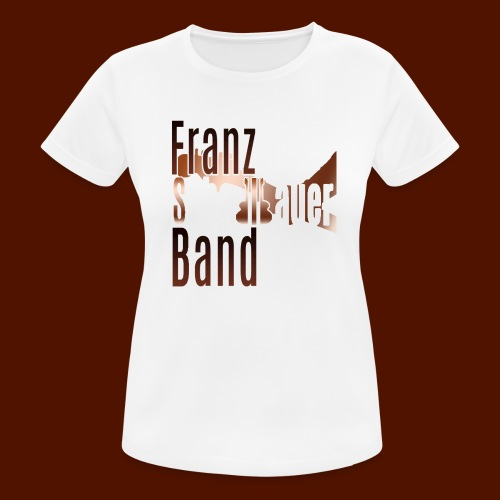 FSB logo brown - Women's Breathable T-Shirt
