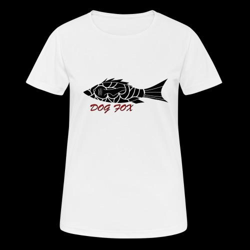 Dogfox Fisch - Frauen T-Shirt atmungsaktiv