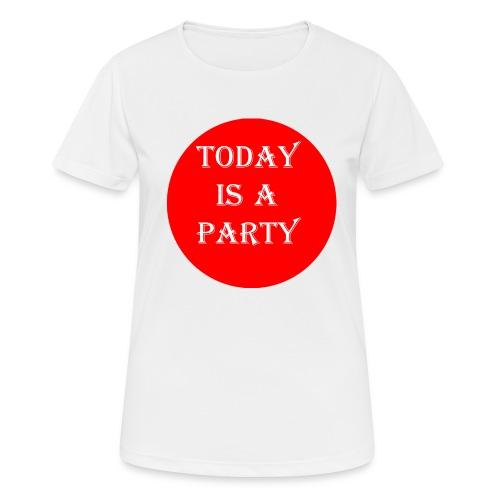 today - T-shirt respirant Femme