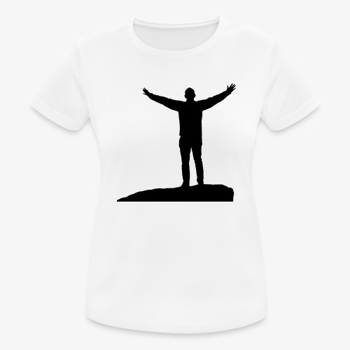 CONQUER - Dame T-shirt svedtransporterende
