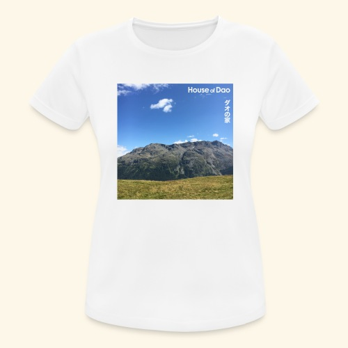 House of Dao - Top of Mountain View - Frauen T-Shirt atmungsaktiv