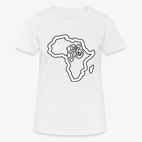 afrika pictogram - Vrouwen T-shirt ademend actief
