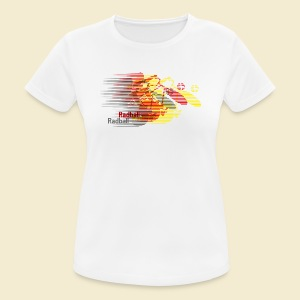 Radball | Earthquake Germany - Frauen T-Shirt atmungsaktiv