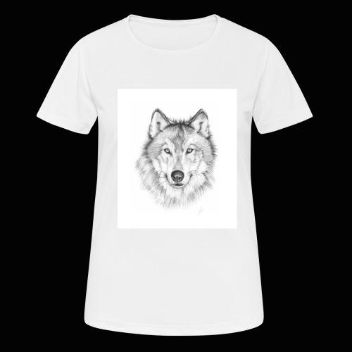 Wolf - Dame T-shirt svedtransporterende