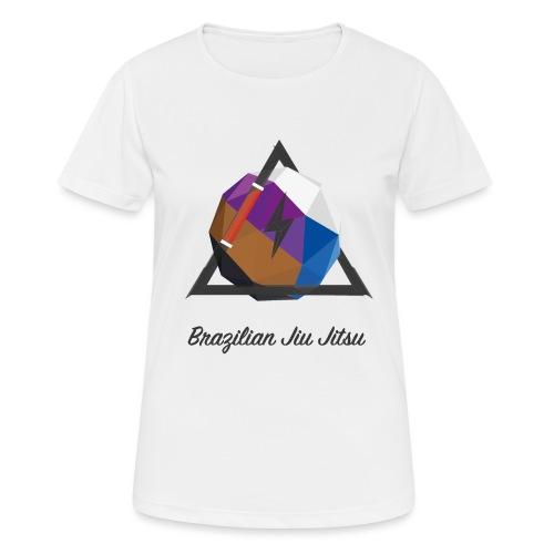 BJJ Journey v2 - Frauen T-Shirt atmungsaktiv