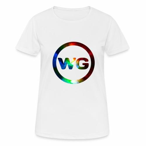 wout games - Vrouwen T-shirt ademend actief
