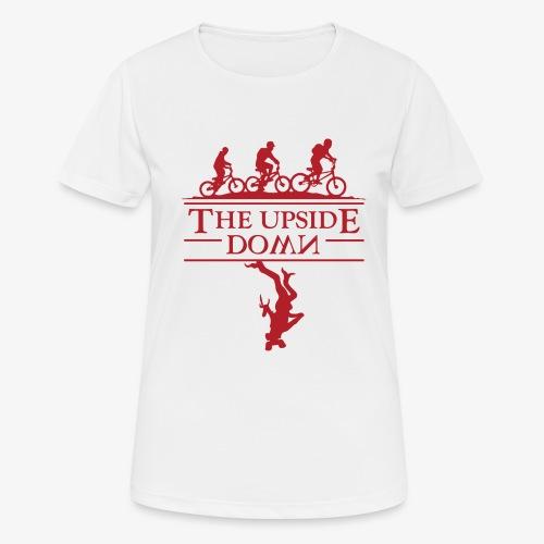upside down - Koszulka damska oddychająca