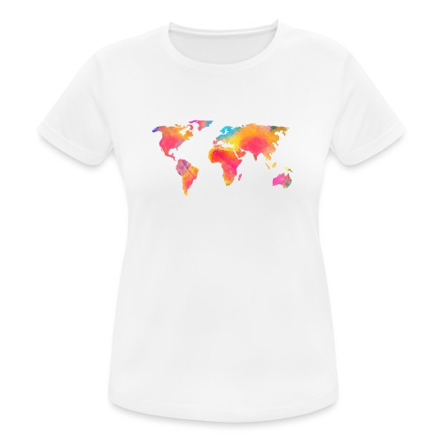 World - Frauen T-Shirt atmungsaktiv