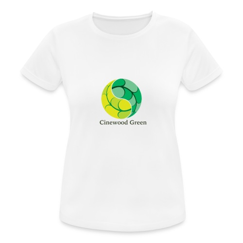 Cinewood Green - Women's Breathable T-Shirt