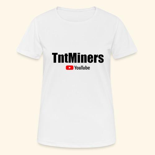 tnty - Andningsaktiv T-shirt dam