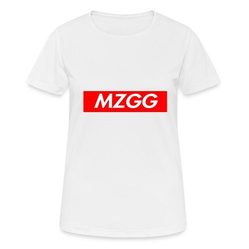 MZGG FIRST - Andningsaktiv T-shirt dam