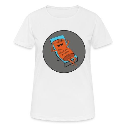 Festivalpodden - Loggan - Andningsaktiv T-shirt dam