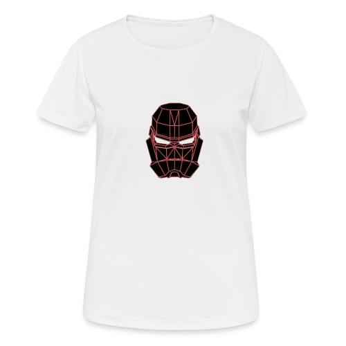 rouge masque spatial - T-shirt respirant Femme