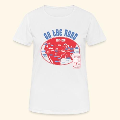 TShirtOntheRoad copy - Camiseta mujer transpirable