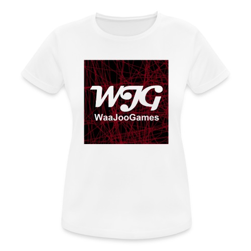 T-shirt WJG logo - Vrouwen T-shirt ademend actief